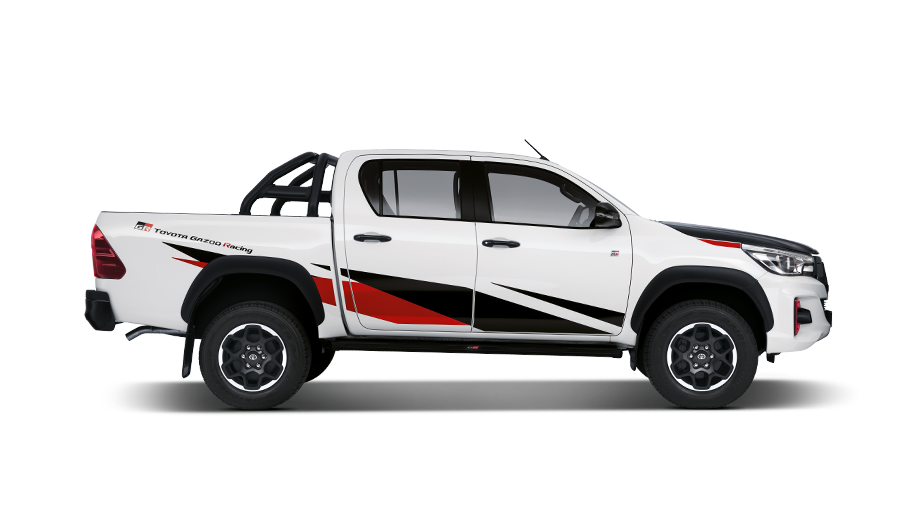 The Hilux DC 2.8GD6 4X4 GR-S AT