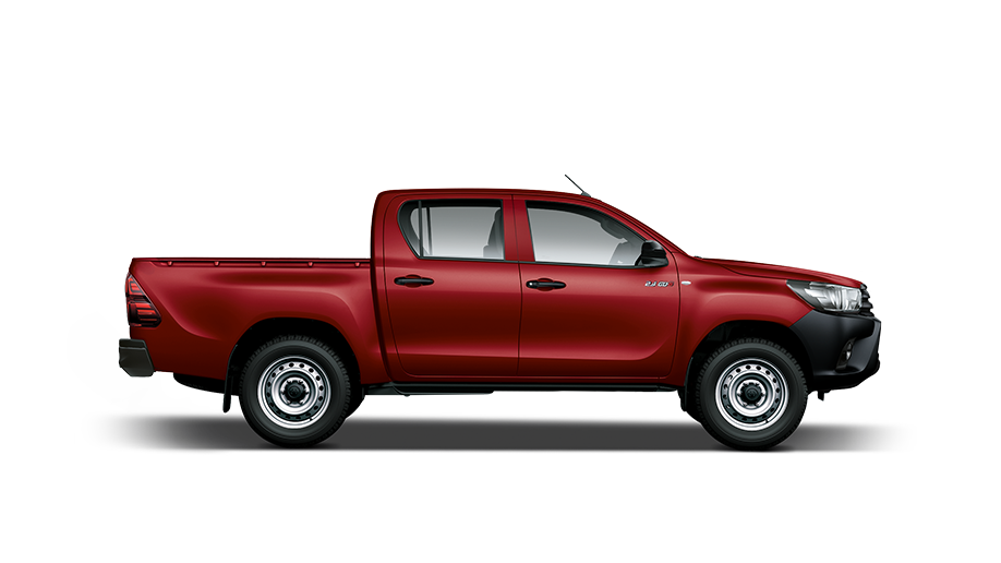 The Hilux DC 2.4GD6 4X4 SR MT